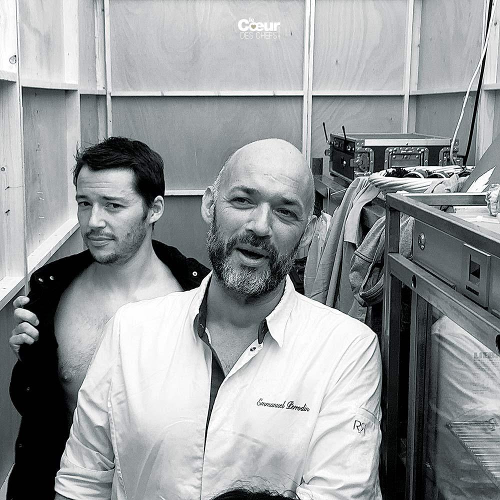 Clement Higgins et Emmanuel Perrodin
