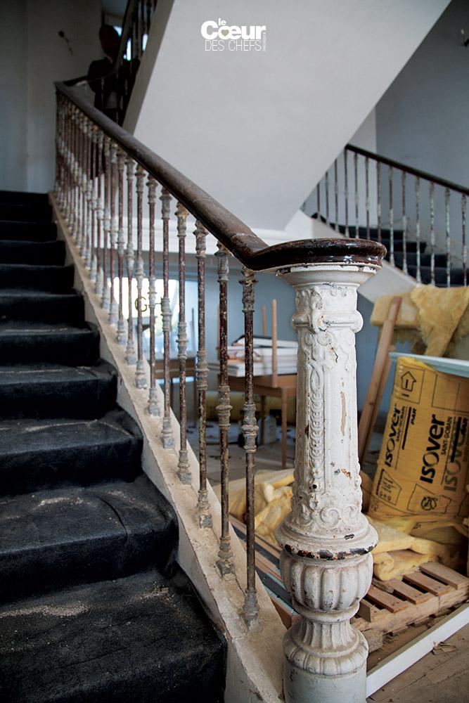 Escalier Sablettes