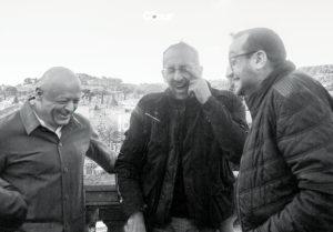 Thierry Marx, Michel Portos et Lionel Lévy pour Le Cœur des Chefs