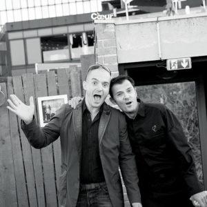 Christian Ernst et Sylvain Robert