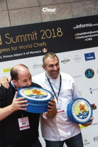 Yoann Conte et son chef Germain Bailly