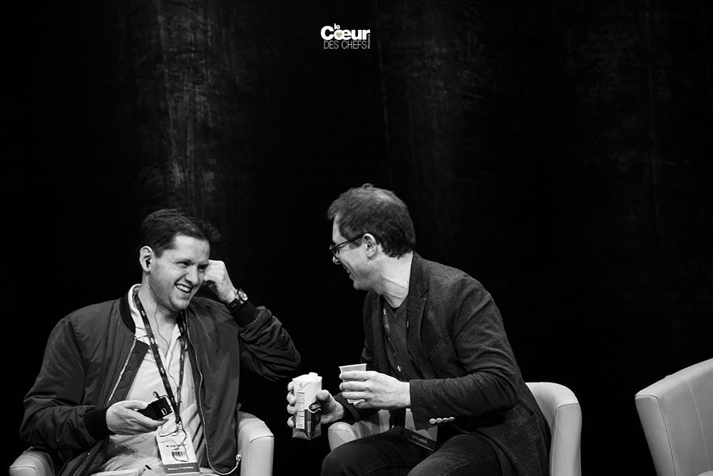 Pascal Barbot et Jorge Vallejo